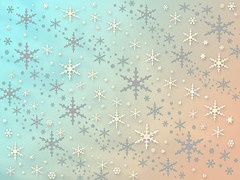 pastel aqua and coral snowflakes effect (Aqua and Coral Imagery) Tags: imagery effect snowflakes pastel aqua coral sparkle sparkles gradient christmas holidays winter