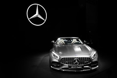 Roadster (Noah L. Photography) Tags: mercedes amg gt c roadster grey gray matte satin car sportscar supercar convertible german laautoshow los angeles
