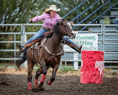 Vulcan Rodeo 2015 (tallhuskymike) Tags: rodeo vulcan alberta fca action foothillscowboysassociation horse outdoors event 2015 cowgirl