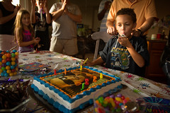 _DSC3116 (jebster2000) Tags: birthday family party portrait dog flower cake happy child sunflower nikon50mmf18 sigma1750mmf28exdcos nikon7100