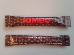 Kimbo 01 (periglycophile) Tags: sugar stick packet sucre kimbo sucrology buchette priglycophilie