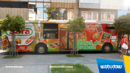 Info Media Group - Sara mesna industrija, BUS Outdoor Advertising, Banja Luka 08-2015 (2)