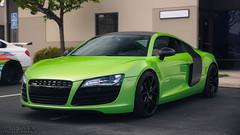 Green Audi R8 (David Coyne Photography) Tags: auto california green cars car cali canon amazing automobile flickr c automotive socal audi supercar supercars coyne audir8 carsandcoffee tumblr canoneos5dmarkiii automotivated