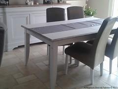 Ensemble séjour (Ambiances Bois & Patines) Tags: france bretagne peinture buffet chaise meuble séjour relooking pillotou ambiancesboispatines