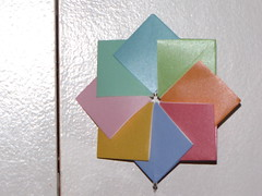 Dezembro 072 (Atelier ArthSarah!) Tags: paper origami modular japo papel bola dezembro tesoura sorte mbile tsuru dobradura longevidade dobras pendurar kudusama
