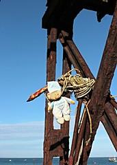 Tears before bedtime ........ (Finding Chris) Tags: pier seaside rust anchor bedtimebear