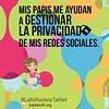 "Mis papis me ayudan a gestionar la privacidad de mis redes sociales #LaNiñaDeLaTablet • <a style=""font-size:0.8em;"" href=""http://www.flickr.com/photos/69838677@N04/21553815014/"" target=""_blank"">View on Flickr</a>"