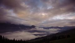 The Struggle Between Light and Dark (Frank Busch) Tags: mountains fog clouds landscape austria penken finkenberg frankbusch wwwfrankbuschname photobyfrankbusch frankbuschphotography imagebyfrankbusch wwwfrankbuschphoto