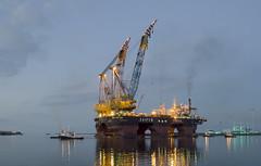 Saipem-7000 (Oetmeij_hobbyfotografie) Tags: scheepvaart eemshaven saipem kraanschip drijvendekraan