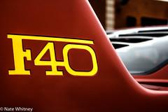 Ferrari F40 (mr_sarcastic1984) Tags: photography ferrari concours hdr f40 2015 hdrphotography hypercar lakeforestsportscars lfsc2015