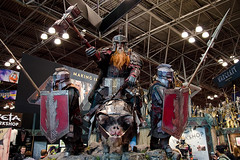 The Hobbit: the Battle of the Five Armies Dwarves - New York Comic Con - 10.11.15 (adcristal) Tags: nyc newyorkcity ny newyork anime television k movie toys tv comic cosplay jacob manga center videogames workshop convention movies con props weta dwarves javitz thehobbit javitzcenter 2015 wetaworkshop nycc newyorkcomiccon tamron1750mmf28 jacobkjavitzconventioncenter nikond7000 thebattleofthefivearmies nycc2015 newyorkcomiccon2015