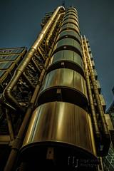 The Obligatory Lloyds Of London Shot (Nigel Jones QGPP) Tags: reflection london architecture modern photoshop steel lloyds