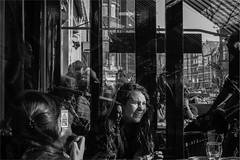 People of The Hague (zilverbat.) Tags: city people blackandwhite holland monochrome dutch bar mono blackwhite cafe dof bokeh candid citylife streetphotography dramatic denhaag september panasonic terras grotemarkt candidphotography streetcandid lahaye peopleinthecity hofstad blackwhitephotos lx3 straatfotograaf humansofthehague elvinhagekpnplanetnl