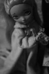 lighter (Vuffy VonHoof) Tags: b bw white black vintage toy cards toys photography blackwhite high doll dolls witch spirit magic w barbie skipper tarot satan devil after ever withch withces