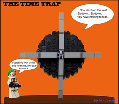 Mortimer (John Lamarck) Tags: comic lego time le edgar p jacobs blake mortimer trap the diabolique pige