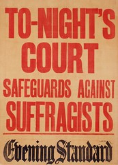 Suffrage in the press: Tonights Court Safeguards Against Suffragistsc.1910 (LSE Library) Tags: hires thewomenslibrary