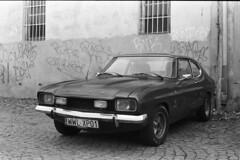 Ford Capri MKII - Classic Cars (Analog World Thru My Lenses) Tags: classic cars ford capri epson mkii v800 rikenon50mmf14 ricohxr7 rolleirpx400 epsonv800