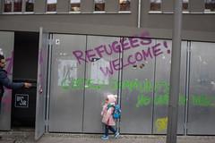 Germany or the trash. Neuklln, December 2015. (joelschalit) Tags: berlin turkey kreuzberg germany refugee middleeast syria immigration immigrant migrant asylumseeker refugeecrisis