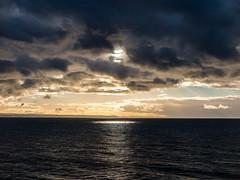 Sea spot (Fin Wright) Tags: ocean sea cloud sun water wales canon ian golden coast cymru powershot aberystwyth wright fin ceredigion reflction ianwright clarach wallog finwright finwrightphotographycouk