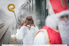 Mikulassk jzda (jirka.zapalka) Tags: train czech steam stanice valasskeklobouky 433002 trat283 mikulasvalasskeklobouky2015