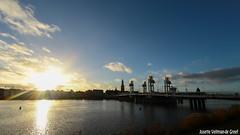 DN9A3788 (Josette Veltman) Tags: city sunset nature water landscape zonsondergang stad ijssel zwolle overijssel landschap hanzestad ijsseldelta