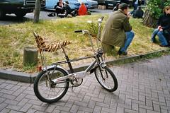 Nice Bonanza Bike (Lowrider2905) Tags: film car analog vintage germany deutschland us gm hamburg meeting oldschool ami v8 treffen farbfoto