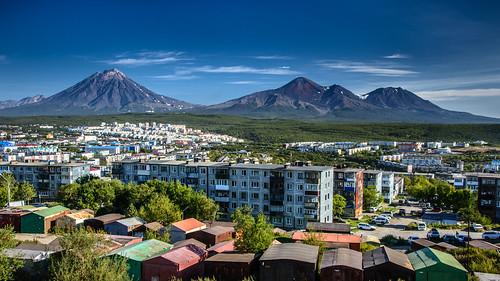 Domestic Volcanoes, Kamchatka ©  kuhnmi