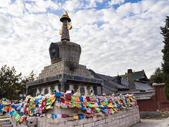 Xilitu temple, Hohhot, Inner Mongolia, China, (Rita Willaert) Tags: china white cn temple buddhist inner mongolia monastery monks tibetan marble zhao innermongolia dagoba hohhot tibetanbuddhist buddhistmonastery gelug xilituzhao gelugmonks xilitu neimengguzizhiqu huhehaoteshi whitemarbledagoba xilitutemple