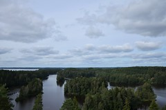 The view from a lookout tower (Villikko) Tags: tammela nature finland lake jrvi landscape maisema nktorni tower