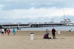 Sopot strandpir (evisdotter) Tags: beach strand sand people pir strandpir sopotpier sopot polen poland sooc