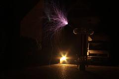 Thunder DRSSTC (Dominik Idziniak (d3211)) Tags: drsstc tesla coil hv high voltage spark sstc arc igbt interrupter midi thunder electronics