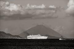 PA024295 Sicily Italy Lipari views to Mt Stromboli (Dave Curtis) Tags: 2013 em5 europe omd olympus sicily italy lipari