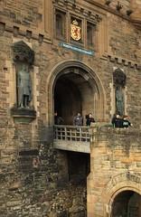 Edinburgh Castle - the entrance (Baz Richardson (trying to catch up)) Tags: scotland edinburghcastle castleentrance castles edinburgh 16thcenturyarchitecture