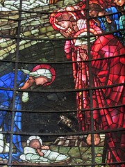 The Nativity (detail) (bitsofalife) Tags: birmingham stchads cathedral burnejones stained glass