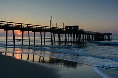 Beach Sunrise (PMillera4) Tags: beachsunrise beach sunrise dawn fishingpier newjersey jerseyshore avalonnj
