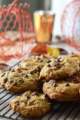 Pumpkin Pecan Chocol (alaridesign) Tags: pumpkin pecan chocolate chip cookies pumpkinweek