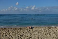 Waikiki Beach (Blinking Charlie) Tags: sunbather waikikibeach waikikibay waikik honolulu hawaii hawaii usa 2016 sonydscrx100m3 blinkingcharlie