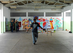 NATTY DREAD (BENET - BNT) Tags: semana da criança hip hop sem fronteiras traços livres cip são benedito graffiti arte comunhão celebração 2016 benet natty caueta sócio educativo oficina
