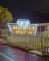 12:54am,2016 (Carson Gilliland) Tags: kodak portra 160 night trailerpark florida sarasota mamiya rz67