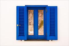 PA024274 Sicily Italy Lipari (Dave Curtis) Tags: 2013 em5 europe omd olympus window blue white wall
