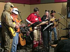 (Jean Arf) Tags: halloween 2016 costume littletheatre watkinsandtherapiers band music steve tom whit kerry sarah scott