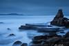 Wild Azkorri (Clear Of Conflict) Tags: azkorri beach playa seascape paisaje naturaleza nature landscape rocks long exposure euskadi pais vasco bizkaia basque country euskal herria biscay atardecer anochecer dusk sunset specland
