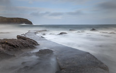 Pier (avaird44) Tags: pennan aberdeenshire scotland canon 6d longexposure 10stop rocks pier