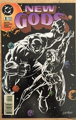New Gods #2 (sheriffdan10) Tags: newgods darkseid dc dccomics comicbooks superhero superheroine cover covers magazine sciencefiction