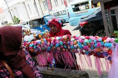 Colours of Jakarta #3 (soreen.d) Tags: southeast asia flowers street outdoor kota tua indonesia java