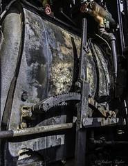 Lever (roberttaylor25) Tags: ga georgia helen trains usa yonahstation controls mechanisms steamengine