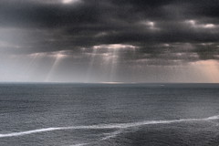 Sound of Inevitability (OculusMaximus) Tags: ireland nature ocean cliffs dramatictone clare loophead atlantic wild stormy xz1 landscape seascape