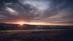 November Sunrise (lutzheidbrink) Tags: nikon d5000 landscape sunrise sonnenaufgang germany deutschland