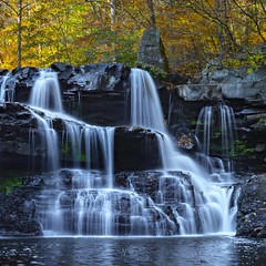 Brush Creek (Notkalvin) Tags: falls waterfall westvirginia outdoor longexposure mikekline notkalvin notkalvinphotography water river fall autumn stream creek colors motion