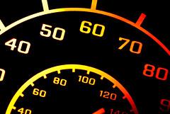 "Speedo (BMW F650GS) - Macro Mondays ""Backlit"" (ST-251) Tags: macro mondays backlit bmw motorbike motorcycle speed speedo fast slow mph gauge"